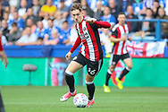 Sheffield United midfielder David Brooks (36) during the EFL Sky Bet Championship match between Sheffield Wednesday and Sheffield Utd at Hillsborough, Sheffield, England on 24 September 2017. Photo by Phil Duncan.
