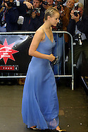 Actress and star of the film 'Morvern Callar, Samantha Morton, arrives at the Odeon for the gala screening of the Lynne Ramsay-directed film on the opening night of the 56th Edinburgh International Film Festival..