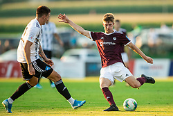 Kristjan Arh Česen of Triglav during football match between NK Triglav and NS Mura in 5th Round of Prva liga Telekom Slovenije 2019/20, on August 10, 2019 in Sports park, Kranj, Slovenia. Photo by Vid Ponikvar / Sportida