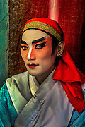 Portrait of young Chinese opera performer, Bangkok.