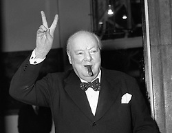 File photo dated 17/09/54 of Sir Winston Churchill, as Winston Churchill sought to block the release of secret Second World War documents revealing Nazi plans to install the Duke of Windsor as king in the event of a successful German invasion, according to newly-released government files.