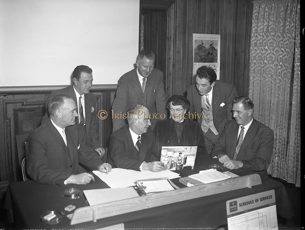 Special for Irish Shell - Managers and Dealers  Conference.21/10/1959
