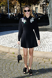 Zoey Deutch attending the Miu Miu show as a part of Paris Fashion Week Ready to Wear Spring/Summer 2017 in Paris, France on October 05, 2016. Photo by Aurore Marechal/ABACAPRESS.COM