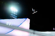 Anna Gasser during Women's Snowboard Big Air Practice at during 2017 X Games Norway at Hafjell Alpinsenter in Øyer, Norway. ©Brett Wilhelm/ESPN