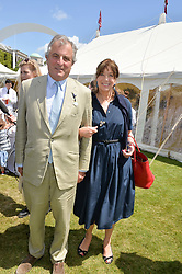 VISCOUNT & VISCOUNTESS ASTOR at the Cartier hosted Style et Lux at The Goodwood Festival of Speed at Goodwood House, West Sussex on 29th June 2014.