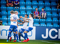 Fotball<br /> Tippeligaen<br /> Vålerenga VIF - Molde MFK<br /> Ullevaal Stadion 23.08.15<br /> Per Egil Flo feirer mål<br /> Foto: Eirik Førde