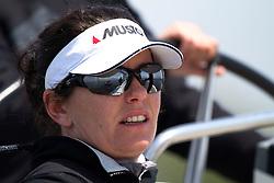 Ulrike Schuemann, Ewe Sailing Team. World Match Race Tour. Match Race Germany. Langenargen, Germany. 19 May 2010. Photo: Gareth Cooke/Subzero Images/WMRT