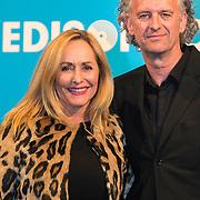 NLD/Amsterdam//20140331 - Uitreiking Edison Pop 2014, Angela Groothuizen en .......