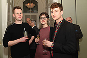 MAX WALLIS; DANIELLE KNIGHT; SAMUEL MUSTIN, The Datai Langkawi Relaunch event, Spring, Somerset House,  London. 1 March 2018