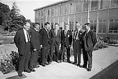 1964 Hurling Final Players visit Esso