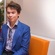 NLD/Hilversum/20130826 - najaarspresentatie 2013 omroep Max, Roland Duong