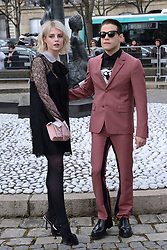Lucy Boynton and Rami Malek attending the Miu Miu show as part of the Paris Fashion Week Womenswear Fall/Winter 2018/2019 in Paris, France on March 06, 2018. Photo by Aurore Marechal/ABACAPRESS.COM