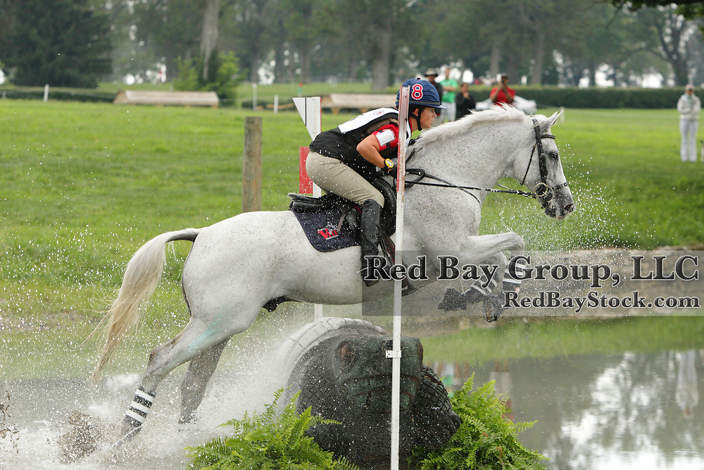 Lauren Lambert and Baba Creek at the 2010 North American Young Rider Championships in Lexington, Kentucky.