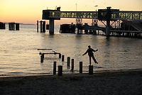 Washington State Ferry Pier, Edmonds, Washington