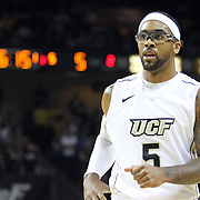 Central Florida guard Marcus Jordan (5)  during a Conference USA NCAA basketball game between the Memphis Tigers and the Central Florida Knights at the UCF Arena on February 9, 2011 in Orlando, Florida. Memphis won the game 63-62. (AP Photo: Alex Menendez)