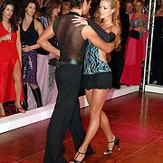 NLD/Amsterdam/20051128 - Uitreiking Beau Monde Awards 2005, Dancing with the stars, Inge de Bruijn en Remco Bastiaansen