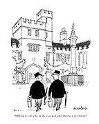 """""""Balliol may be a bit earlier, but this is one of the oldest Ministries in the University."""""""