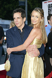 Jun 14, 2004; Westwood, CA, USA; Actor BEN STILLER and wife Actress CHRISTINE TAYLOR at the 'Dodgeball: A True Underdog Story' World Premiere held at the Mann Village Theatre..  (Credit Image: Rena Durham/ZUMAPRESS.com)