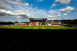 A general view of Sincil Bank Stadium, home to Lincoln City - Mandatory by-line: Robbie Stephenson/JMP - 13/07/2018 - FOOTBALL - Sincil Bank Stadium - Lincoln, England - Lincoln City v Sheffield Wednesday - Pre-season friendly