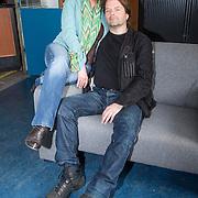 NLD/Zaandam/20140408 - Perspresentatie SBS serie Rechercheur Ria, Ellen Pieters en Victor Löw