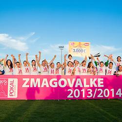 20140521: SLO, Football - Final of Slovenian Wome Cup, ZNK Teleing Pomurje Beltinci vs Rudar Skale