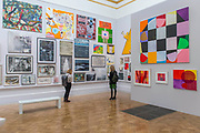 Multiple works in Room I curated by Gus Cummins - The Royal Academy's 249th Summer Exhibition - co-ordinated by Eileen Cooper RA. The hanging committee will consist of Royal Academicians Ann Christopher, Gus Cummins, Bill Jacklin, Fiona Rae, Rebecca Salter and Yinka Shonibare. This year, the Architecture Gallery will be curated by Farshid Moussavi RA. The exhibition, sponsored by Insight Investment is open to the public 13 June – 20 August 2017. London 07 June 2017.