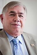 Belo Horizonte_MG, Brasil...Retrato do ex governador do estado de Minas Gerais, Newton Cardoso...The Newton Cardoso portrait, He is the ex-governor of Minas Gerais...Foto: BRUNO MAGALHAES / NITRO