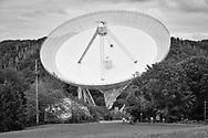 radio telescope Effelsberg near Bad Muenstereifel, Eifel region, North Rhine-Westphalia, Germany.<br /> <br /> das Radioteleskop Effelsberg nahe Bad Muenstereifel, Eifel, Nordrhein-Westfalen, Deutschland.