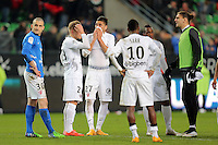 DECEPTION METZ   - 07.03.2015 -  Rennes / Metz -  28eme journee de Ligue 1 <br />