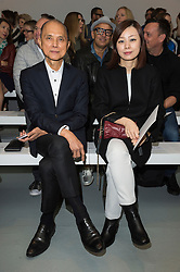 © Licensed to London News Pictures. 17/09/2016. JIMMY CHOO attends the  JASPER CONRAN Spring/Summer 2017 show. Models, buyers, celebrities and the stylish descend upon London Fashion Week for the Spring/Summer 2017 clothes collection shows. London, UK. Photo credit: Ray Tang/LNP