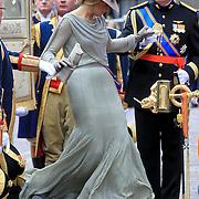 NLD/Den Haag/20110920 - Prinsjesdag 2011, aankomst kroonprins Willem - Alexander en Pr. Maxima