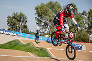 #110 (SMULDERS Laura) NED at Round 1 of the 2020 UCI BMX Supercross World Cup in Shepparton, Australia