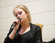 24/06/2017 REPRO FREE:   Singer and songwriter  Aileen Henderson  at The Notorious Choir summer Concert at Maree Community Centre in aid of Road To Hope and the Brothers of Charity Sri Lankan orphanage .  Jacqui McCarthy and Tommy Keane and The Sheds  also performed on the night. Photo:Andrew Downes, xposure .