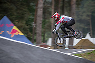 #48 (GRAF David) SUI at Round 6 of the 2018 UCI BMX Superscross World Cup in Zolder, Belgium