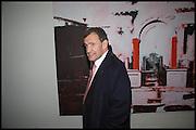 Poju Zabludowicz, Dexter Dalwood. - London Paintings, private view, simon lee gallery, 12 berkeley st. w1. 17 Nov 2014