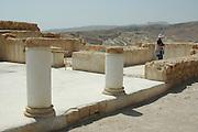 Israel, Masada, The Synagogue