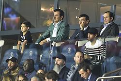 September 18, 2019, Paris, France, France: Tamim ben Hamad Al Thani - prince du Qatar - proprietaire du PSG dans les tribunes (Credit Image: © Panoramic via ZUMA Press)