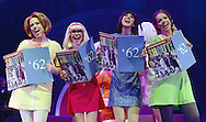 Shout The Mod Musical at Blackpool WInter Gardens.<br />Produced by Peter Frosdick, Shout is running in Blackpool until November 3.<br /><br />Left   Amelia Lily as Yellow Girl ,Suzanne Shaw as Red Girl ,  Helena Blackman as Blue Girl. Liz McClarnon as Green Girl, <br />Shout is a musical telling the girls' lives through the tales of a gossip magazine agony aunt in the 1960s.