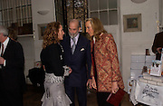 Emma Sergeant, ( Zamoyski) with prince and Princess Michael of Kent, 1812 Napoleon's Fatal March on Moscow by Adam Zamoyski book launch. Avenue Studios. Fulham Rd. 5 April 2004. ONE TIME USE ONLY - DO NOT ARCHIVE  © Copyright Photograph by Dafydd Jones 66 Stockwell Park Rd. London SW9 0DA Tel 020 7733 0108 www.dafjones.com