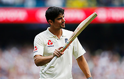 File photo dated 29-12-2017 of England's Alastair Cook who will receive a knighthood after he was named in the New Year Honours list.