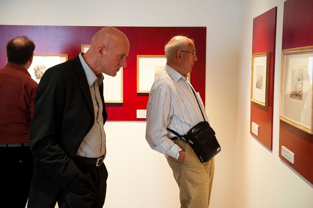 Nederland, Zeist, 24  juni 2012.Opening tentoonstelling etsen van Rembrandt in Slot Zeist.. Foto (c): Michiel Wijnbergh