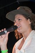 Israel, Nof Ginosar, Lilach Sheer, at Jacob's Ladder Music festival 2009
