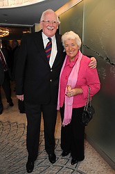 BILL & ROSA TIDY at the Lady Taverners Tribute Lunch in honour of Nicholas Parsons held at The Dorchester, Park Lane, London on 20th November 2009.