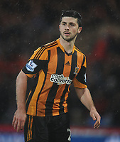 Football - 2013 / 2014 Premier League - Crystal Palace vs. Hull City<br /> <br /> Hull's debut boy, Shane Long at Selhurst Park.<br /> <br /> COLORSPORT/ANDREW COWIE