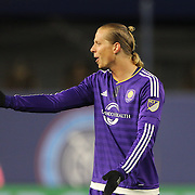Brek Shea, Orlando, in action during the New York City FC Vs Orlando City, MSL regular season football match at Yankee Stadium, The Bronx, New York,  USA. 18th March 2016. Photo Tim Clayton