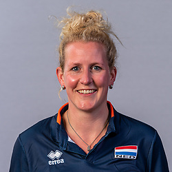 Martje Terlingen, Photoshoot selection of Orange men's volleybal team season 2021on may 11, 2021 in Arnhem, Netherlands (Photo by RHF Agency/Ronald Hoogendoorn)