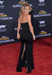 Elsa Pataky attends the premiere of Disney and Marvel's 'Thor: Ragnarok' at El Capitan Theatre on October 10, 2017 in Los Angeles, California. Photo by Lionel Hahn/AbacaPress.com