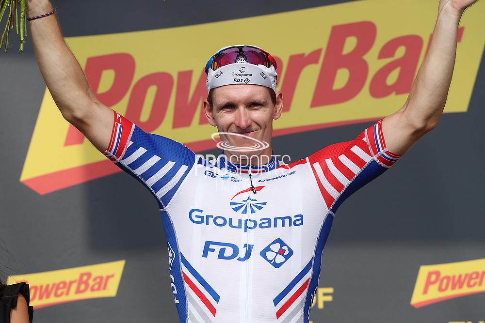 Podium, Arnaud Demare (FRA - Groupama - FDJ) winner during the 105th Tour de France 2018, Stage 18, Trie sur Baise - Pau (172 km) on July 26th, 2018 - Photo George Deswijzen / Pro Shots / ProSportsImages / DPPI