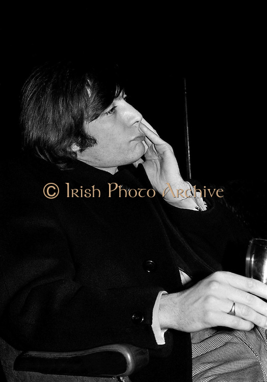 The Rolling Stones Charlie is my Darling - Ireland 1965. Charlie Watts strikes a thoughtful pose at The Rolling Stones press conference at the Adelphi Theatre, Middle Abbey Street, Dublin. This was the band's first Irish tour of 1965....07/01/1965.01/07/1965.07 January 1965. Anniversary gifts of Limited Edition Prints of Charlie Watts,  The Rolling Stones, Charlie is my Darling, Ireland 1965.  <br /> Christmas gifts of Limited Edition Prints of Charlie Watts,  The Rolling Stones, Charlie is my Darling, Ireland 1965.  <br /> Unusual giftsof Limited Edition Prints of Charlie Watts,  The Rolling Stones, Charlie is my Darling, Ireland 1965. <br /> Unique gifts of  Limited Edition Prints of Charlie Watts,  The Rolling Stones, Charlie is my Darling, Ireland 1965. <br /> Birthday gifts of Limited Edition Prints of Charlie Watts,  The Rolling Stones, Charlie is my Darling, Ireland 1965.  <br /> Gifts of Limited Edition Prints of Charlie Watts,  The Rolling Stones, Charlie is my Darling, Ireland 1965.  <br /> Gift of Limited Edition Prints of Charlie Watts,  The Rolling Stones, Charlie is my Darling, Ireland 1965.