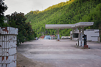 Gas station in Anji province China.